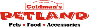 Goldmans Petland pet food accessories