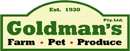Goldmans farm pet produce